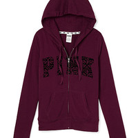 Limited Edition Perfect Zip Hoodie - PINK - Victoria's Secret