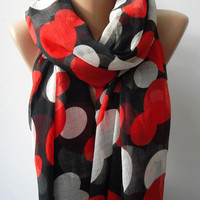 ON SALE  Infinity Scarf, Loop Scarf, Circle Scarf - Elegant - It made with good quality chiffon fabric....Super Loop