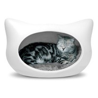 Cat Head Cat Bed  Cat -- Better Living Through Design