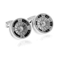 Tateossian Gambling Mechanical Decision Maker Cufflinks-CL-RTCL-0009