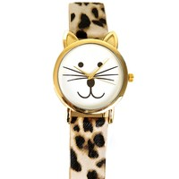 Leopard And Cat Watch