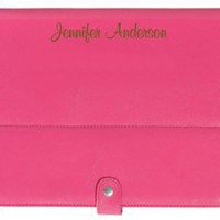 Personalized Laser Etched iPad/Tablet Case - Pink