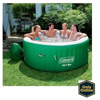 Walmart: Coleman Lay-Z Massage Portable Spa for 4-6 People