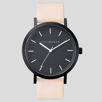 Matte Black / Vegetable Tan Leather - Watch