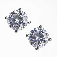 CUBIC ZIRCONIA STUD EARRINGS from EXPRESS