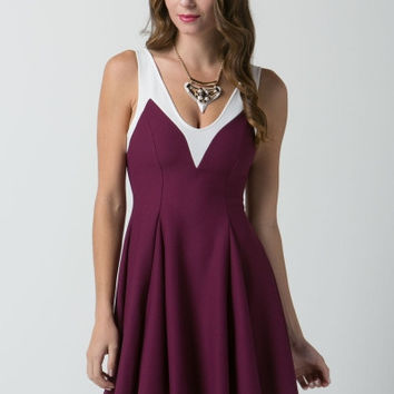 Cranberries and Cream Dress