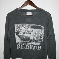 The Orphan's Arms — REDRUM black pullover