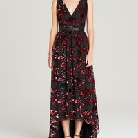 Alice + Olivia Maxi Dress - Kasia Velvet Rose