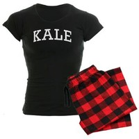 KALE Women's Dark Pajamas | KALE PJs | Warm Weather Gear