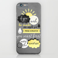 If you wish to make an apple pie iPhone & iPod Case by Elisabeth Fredriksson