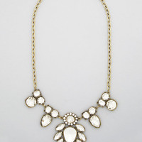 ModCloth Statement That Thing You Dewdrop Necklace