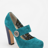 Seychelles Suede Mary Jane Heel