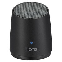 iHome Bluetooth Mini Speaker - Black (iBT69B)