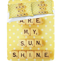 DENY Designs Home Accessories | Happee Monkee You Are My Sunshine Sheet Set