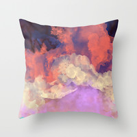Into The Sun Throw Pillow by Galaxy Eyes