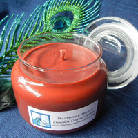 Chocolate Covered Cherries Scented Soy Candle in Apothecary Jar