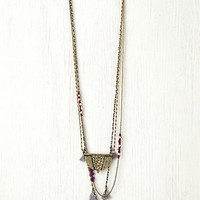 Free People Multi Layer Necklace