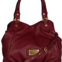 Marc by Marc Jacobs|Fran textuerd leather tote|NET-A-PORTER.COM