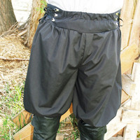 Pirate Pants Steampunk Renaissance knee breeches knicker Pants by Mean Kitty Wear