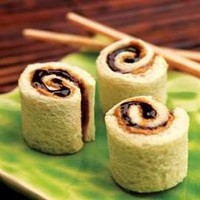 Yum! / Peanut Butter and Jelly Sushi - Food on Shine
