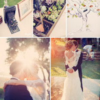 Real Wedding: Summer + Daniel?s Romantic Barn Wedding | Green Wedding Shoes Wedding Blog | Wedding Trends for Stylish + Creative Brides