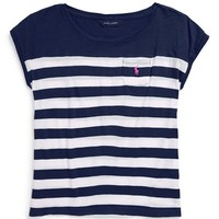 Girl's Ralph Lauren Stripe