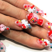 Tooth & Nail (Art) Hello Kitty Nails ?