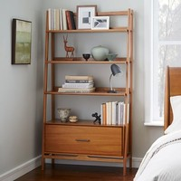 Mid-Century Bookshelf - Wide