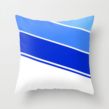 Simple Lines Series Throw Pillow by Timothy Davis