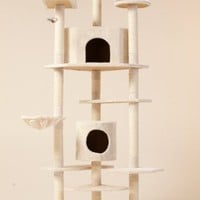 New 80&amp;quot; &amp;quot;The Tabby&amp;quot; Cat NapTM Cat Tree Condo Pet Furniture Scratching Post Pet House...