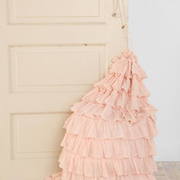 Ruffled Laundry Bag-