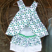 Baby Dress With Ruffled Bloomers, 6.. on Luulla