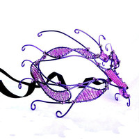 Purple ladies mask, on sale