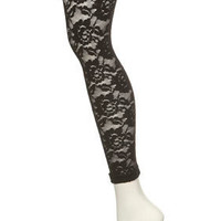 Black Lace Footless Tights - New In This Week - New In - Topshop USA