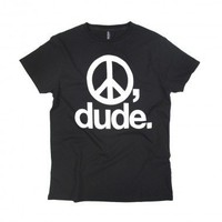 Peace Dude Black