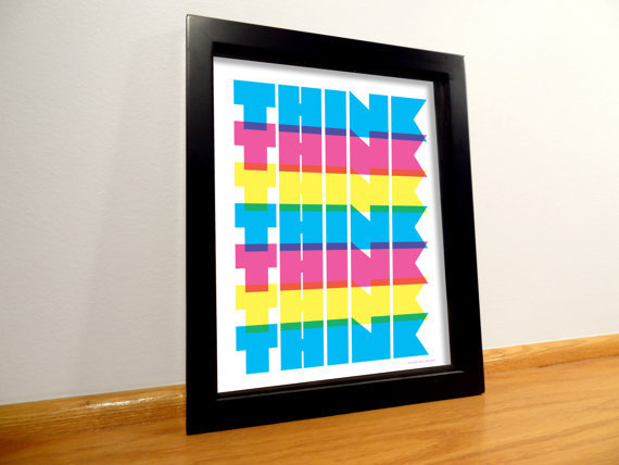 Think Typography Print