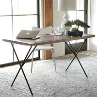 Metal Truss Work Table | west elm