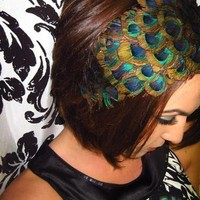 Drake Peacock Headband by LovMely