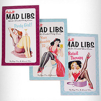 Adult Mad Libs Party Pack Set