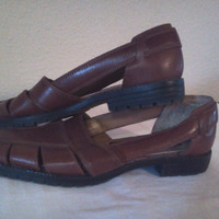 Leather Hurache Slip On Shoes in Womens Size 5.5M