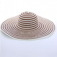 STRIPE FLOPPY HAT @ KiwiLook fashion