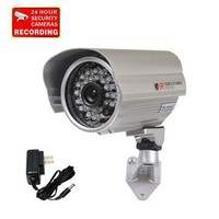 "VideoSecu Outdoor Day Night Security Camera Infrared Weatherproof CCTV Home 1/3"" CCD 420 TV..."