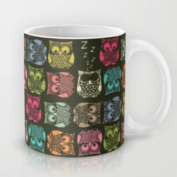 sherbet owls Mug by Sharon Turner