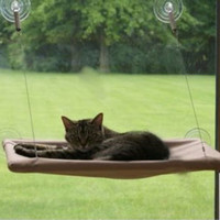 1 pc New Cat Window Mounted Sunshine Pet Wall Bed Home Suction Cups Conservatory