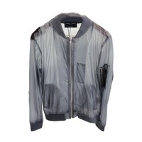 Grey Lightweight Rain Jacket