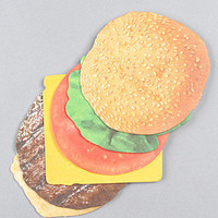 The Burger Coasters (Set of 6)