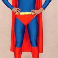superman costume with cape