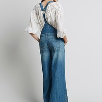 Free People Womens Ring Back Overall - Bee