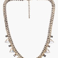 JOA Twinkle Statement Necklace