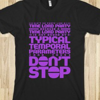 Time Lord Party - Purple - Doctor Who Fans